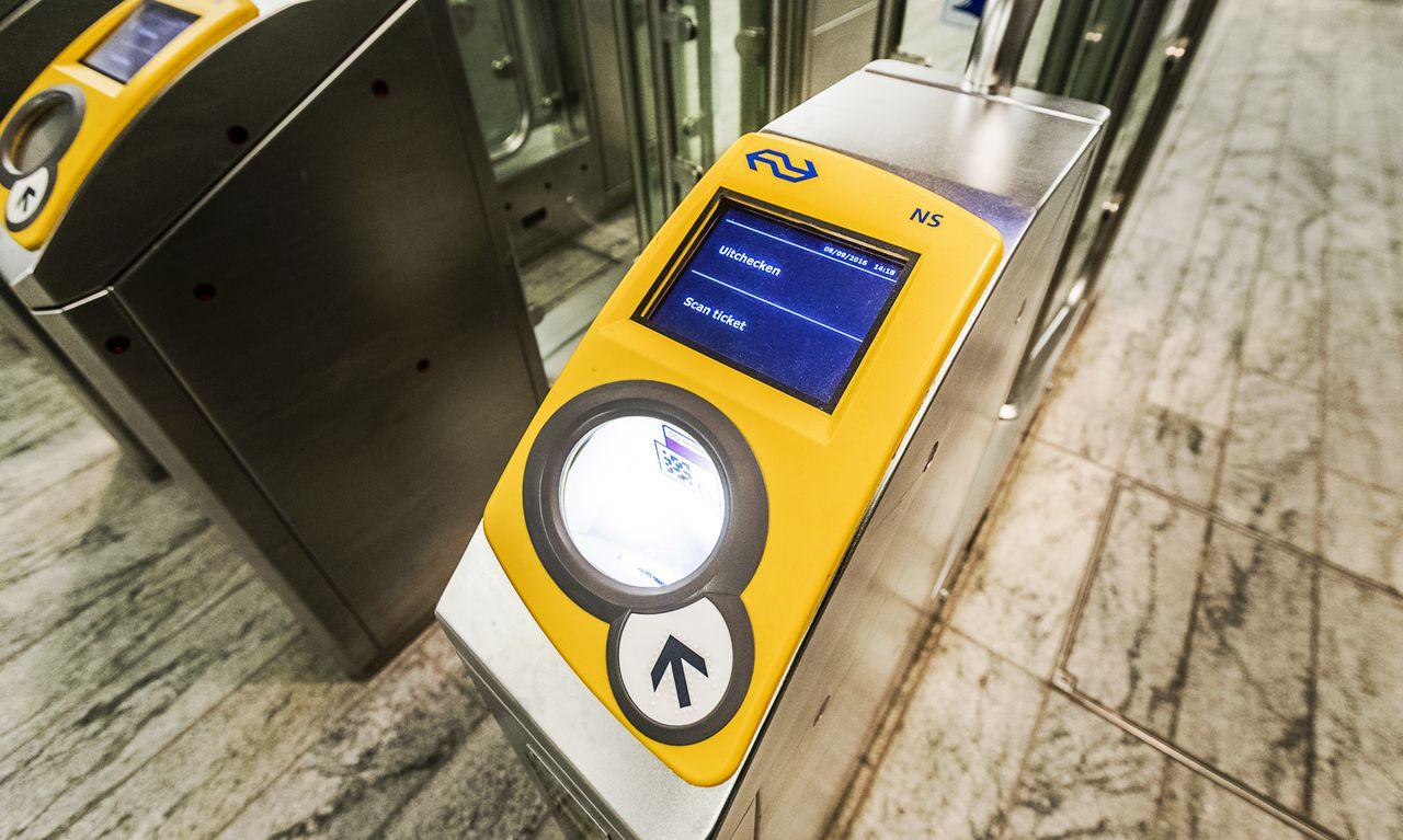 sensores localizados na entrada da estação