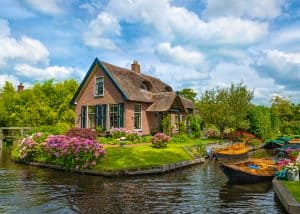 Giethoorn, a Veneza da Holanda.