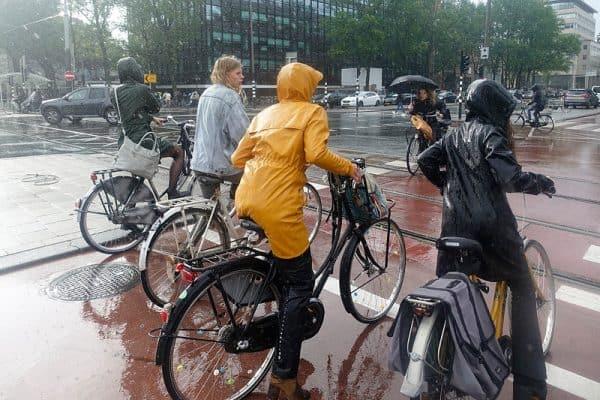 regen in amsterdam