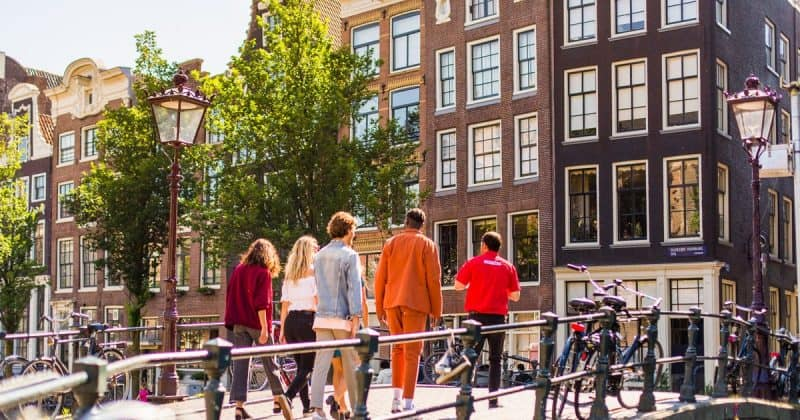 Tour gratuito a pé em Amsterdā